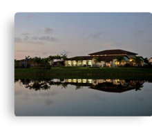 Clubhouse At Lakes By The Bay (Cutler Bay, Fla) Canvas Print