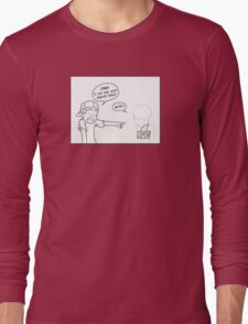 Sketch Lines! Long Sleeve T-Shirt