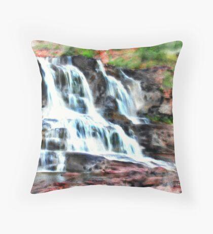 Gooseberry Falls Throw Pillow