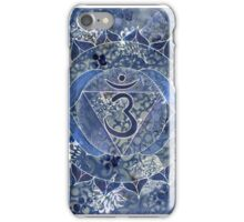 Sixth Chakra Mandala  iPhone Case/Skin