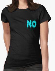 Nahhh - Corner Womens Fitted T-Shirt