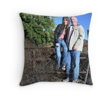 """ Montana Bound "" Throw Pillow"