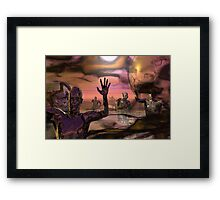All That Was Left ... Framed Print