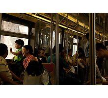 The Train to Coney Island Photographic Print