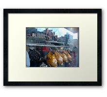 Reflections in Chinatown Framed Print