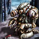 The Thoughtful Robot by Matt Bissett-Johnson