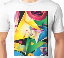 Abstract Design (Large Graphic) Unisex T-Shirt