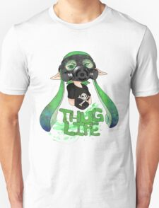 Squid AND a Kid -Green- Unisex T-Shirt