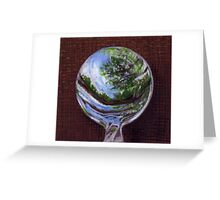"""""""Scoop Up the Sky"""" Greeting Card"""