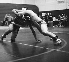 wrestling by Cami Hagen