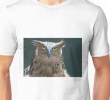 The Intense Yellow-eyed Stare Unisex T-Shirt