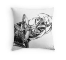 Alas Poor Yorick! Throw Pillow