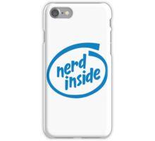 Nerd Inside iPhone Case/Skin
