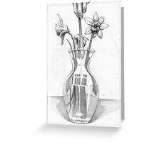 """The Tribute Flower"" Greeting Card"