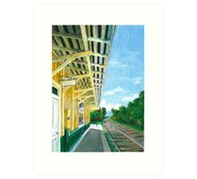 Purcellville Train Station Art Print