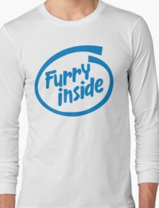 Furry Inside Long Sleeve T-Shirt