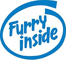 Furry Inside Photographic Print