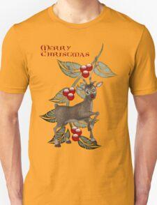 Dancing Reindeer Tee T-Shirt