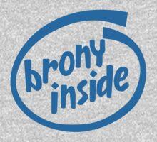 Brony Inside Baby Tee