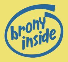 Brony Inside One Piece - Short Sleeve