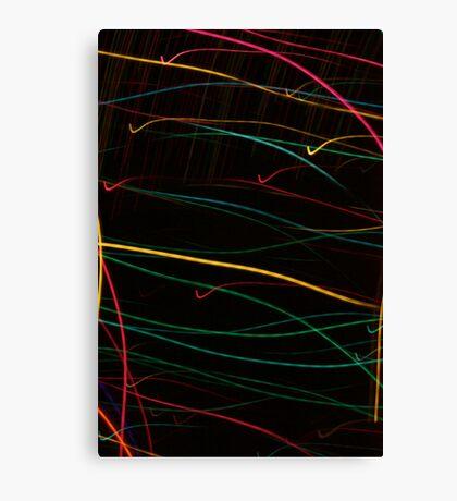 Suburb Christmas Light Series  - Checking the List Canvas Print