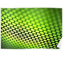 Metalic backlit shinny background Poster