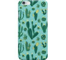 Cactus Fields - Blue iPhone Case/Skin