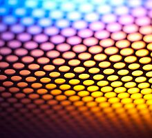 Metalic backlit shinny background by homydesign