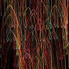 Suburb Christmas Light Series - Xmas Cathedral by David J. Hudson