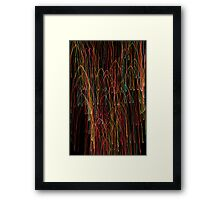 Suburb Christmas Light Series - Xmas Cathedral Framed Print