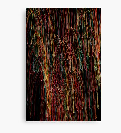 Suburb Christmas Light Series - Xmas Cathedral Canvas Print