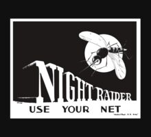 Night Raider -- Use Your Net -- WWII Kids Clothes