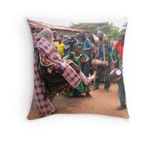 Village Masquerade Throw Pillow