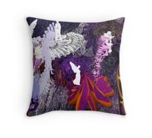 Once Upon A Fantasy There Was A Place... Throw Pillow