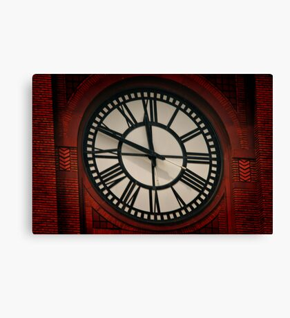 What Time Is It? Canvas Print