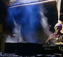 Ladakh, India: Subterranean Kitchen by Neville Bulsara