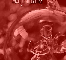 Merry Christmas - Angel  in a Bauble by Joy Watson