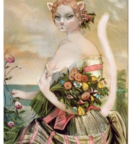Missy Mew, by Alma  Sticker