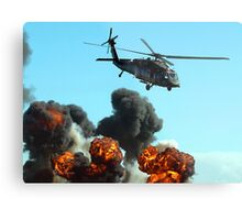 Australian Army Helicopter 3 Metal Print