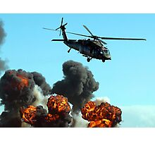 Australian Army Helicopter 3 Photographic Print