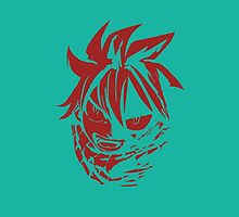Natsu Dragnel Fairy Tail Anime by oncemoreteez