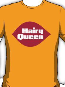 Hairy Queen Parody Logo T-Shirt