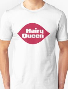 Hairy Queen Parody Logo Unisex T-Shirt