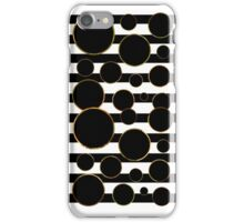 Behind the Screen Black and White iPhone Case/Skin