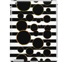Behind the Screen Black and White iPad Case/Skin