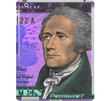 ALEXANDER HAMILTON-TEN DOLLAR BILL.jpg iPad Case/Skin