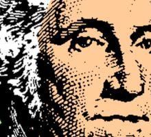GEORGE WASHINGTON (POP-ART) Sticker