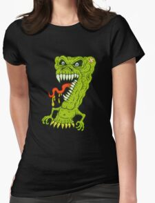 Yucky Seven Womens Fitted T-Shirt