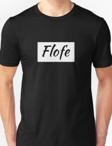 flofe white rectangle Unisex T-Shirt
