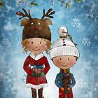 We wish you a Merry Christmas by Kristy Spring-Brown